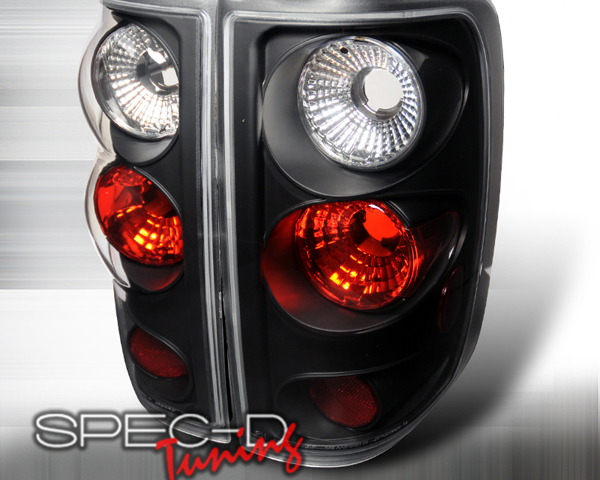 SpecD Black Housing Altezza Tail Lights Ford F-150 04-08 - LT-F15004JM-TM