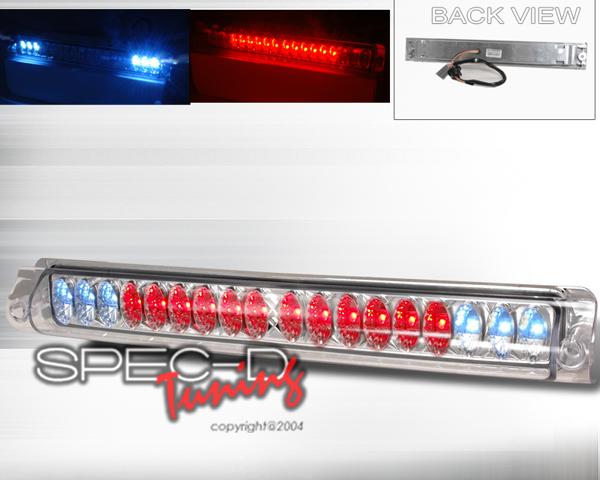 SpecD Chrome LED 3rd Brake Light Ford F-150 97-03 - LT-F15097RBCLED-CY