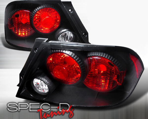 SpecD Black Housing Altezza Tail Lights Mitsubishi EVO VII VIII IX - LT-LAN03JM-KS