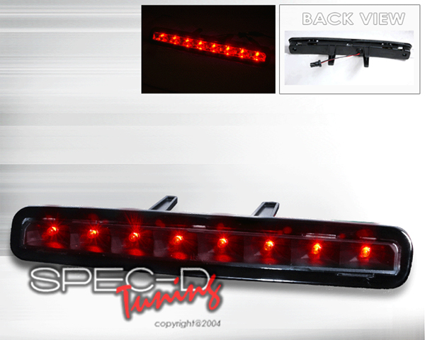 SpecD Black LED 3rd Brake Light Ford Mustang 05-09
