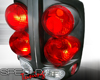 Image of SpecD Black 3-D Altezza Tail Lights Dodge Ram 02-06