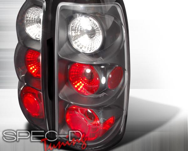 SpecD Black Housing Altezza Tail Lights Chevrolet Silverado 03-06 - LT-SIV03JM-TM