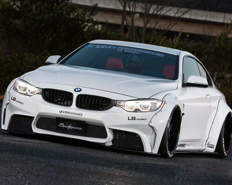 LIberty Walk Complete Body Kit FRP BMW 4-Series 14-15 - LW-4Series-0001