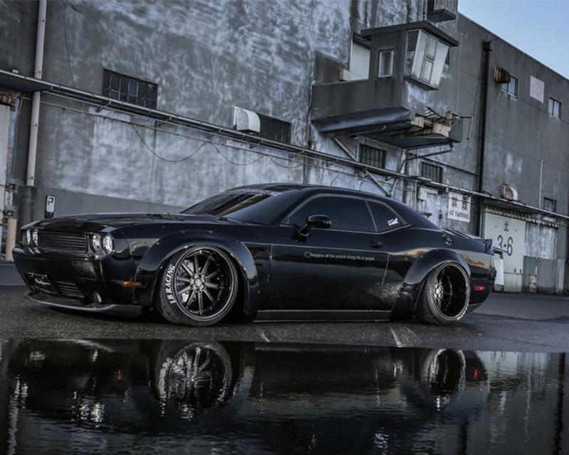 LIberty Walk Complete Body Kit | Front Lip Set FRP Dodge Challenger 08-15