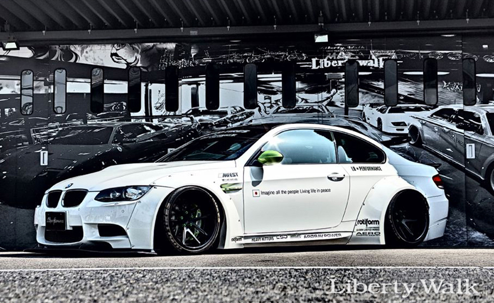 Liberty Walk Complete Body Kit Version 2 Cfrp Bmw M3 E92 08 13