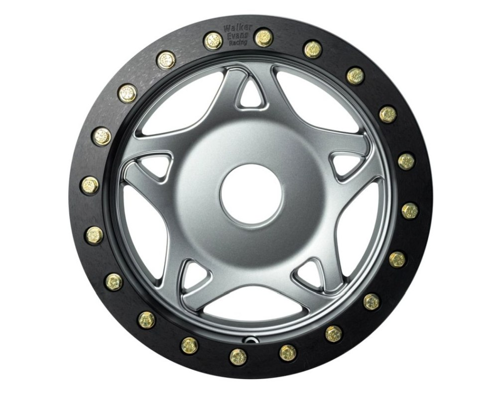 Walker Racing Legend II Wheel Gun Metal w/ Accents 14x7 4x110 5.125 - 61-470-9451-4