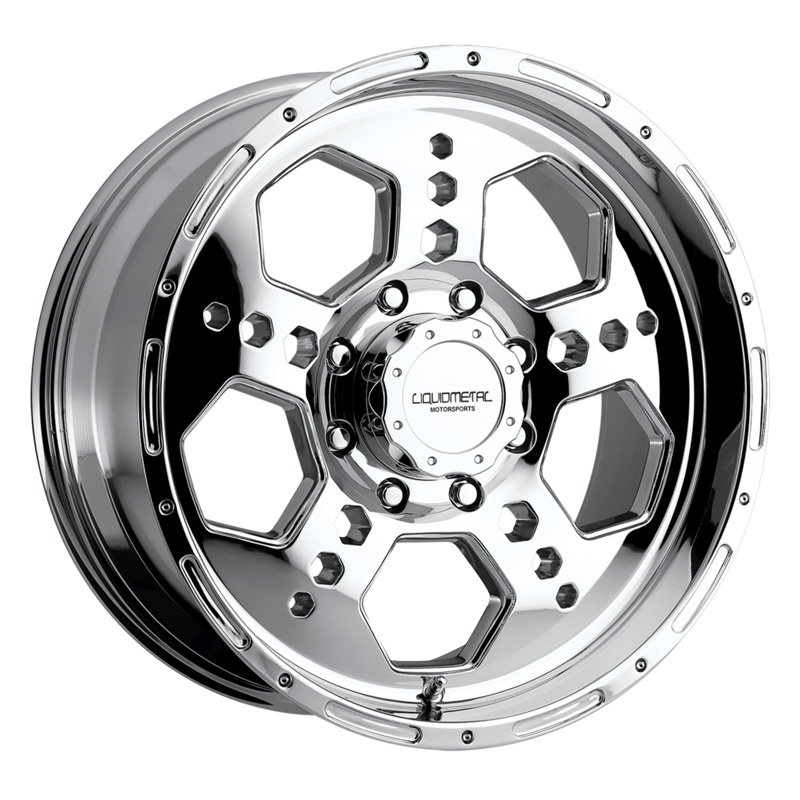 Liquid Metal Gatlin Chrome Wheel 18x9 5x127 10 - DT-49177