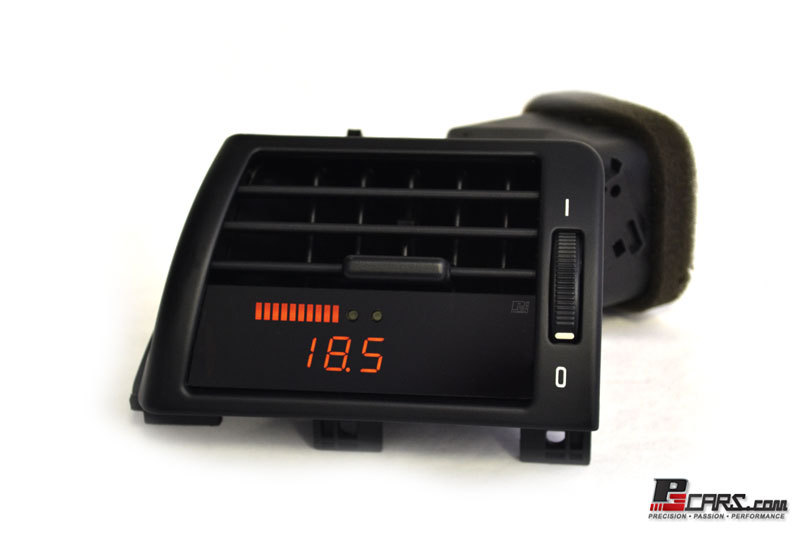 P3Cars Digital Interface LHD Pre-Installed OBD2 Multi Vent Gauge BMW 323i E46 98-02 - LvP3BE46+V