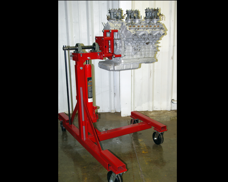 Image of Auto Dolly Auto Engine Stand for Auto Rotisserie