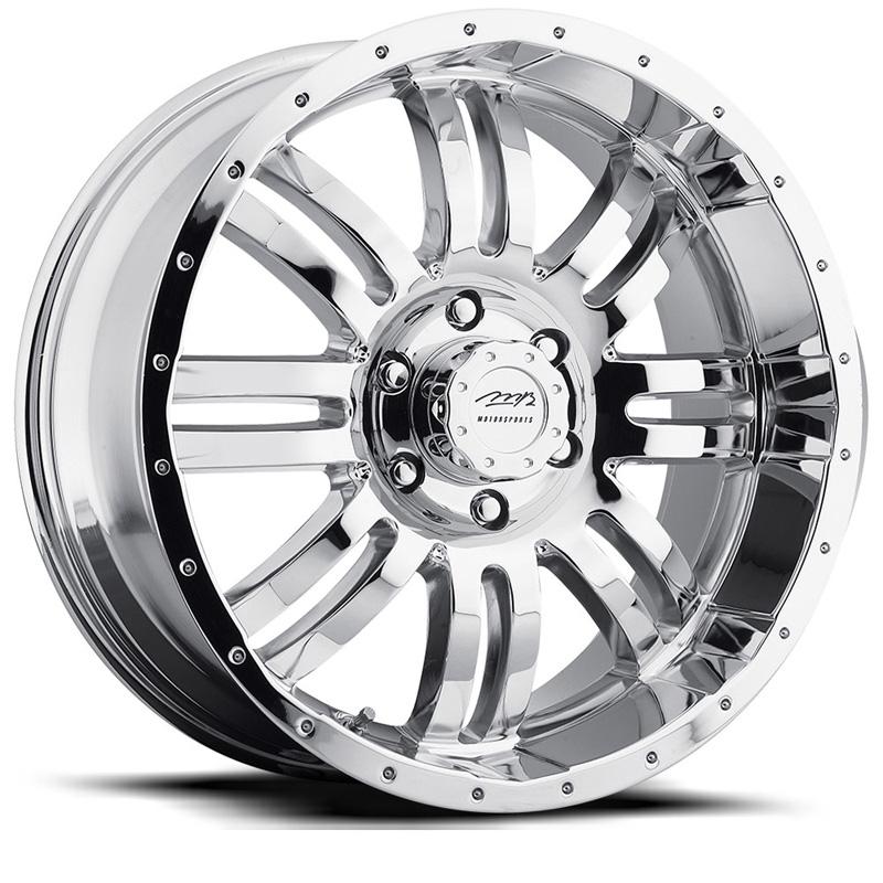 MB Wheels V-Drive Chrome Wheel 22x10 5x139.7 25 - DT-68044