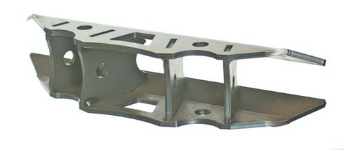 Triangulated Lower Link Mount Large For 1 75 Inch OD Round Tube Motobilt