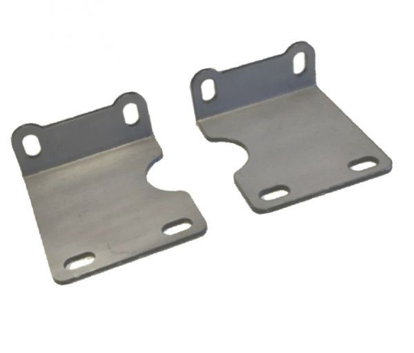 Jeep TJ B-Pillar Cage Mounts 97-06 Wrangler TJ Motobilt - MB3018