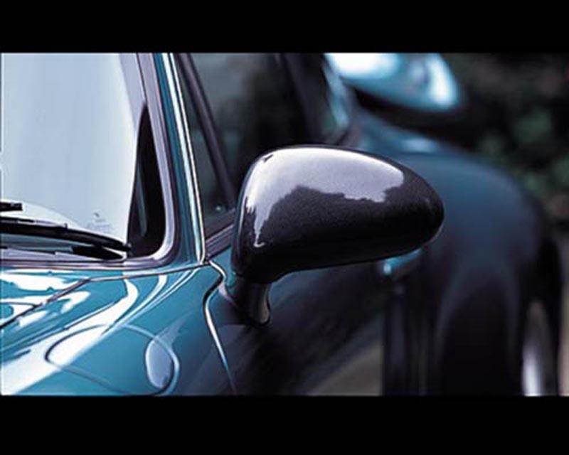 GruppeM Aerodynamics Carbon Mirror Covers Porsche 993 Carrera 2 GT2 Turbo 96-98 - MCC-993