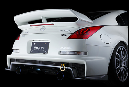 MCR FRP Rear Wing Nissan 350Z 03-08 - MCR20331410001
