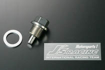 Js Racing Manual Transmission Magnet Drain Bolt Acura|Honda 1991-2009 - MDB-MT