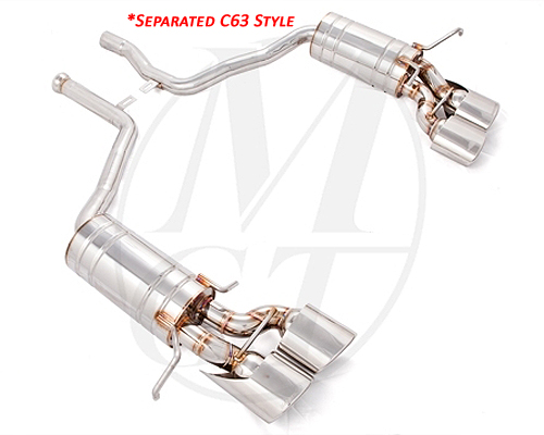 Meisterschaft Stainless HP Touring Exhaust 4x120x80mm Mercedes-Benz C300 | C350 V6 Coupe 12-15 - ME0241117