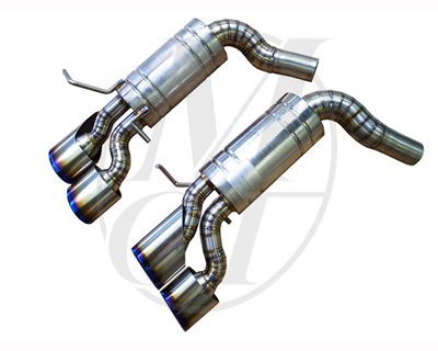 Meisterschaft Titanium GT2 Racing Exhaust Mercedes-Benz C63 AMG Coupe 12-15 - ME0262318