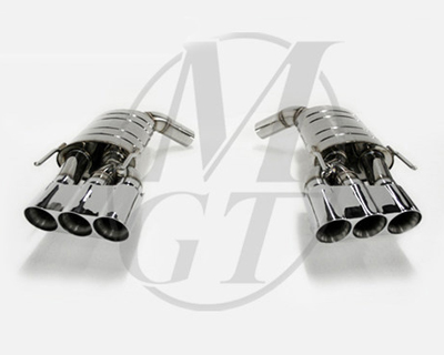 Meisterschaft Stainless HP Touring Exhaust 6x83mm Tips Mercedes-Benz SL55 AMG 5.5L V8 03-08 - ME0431110