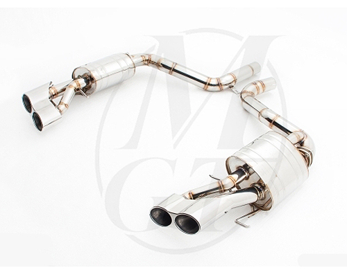 Meisterschaft Stainless GTS Ultimate Exhaust Separated Oval Tips Mercedes-Benz E63 AMG 10-13 - ME0631518
