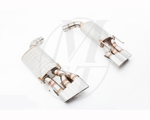 Meisterschaft Stainless GT Racing Exhaust 6x83mm Tips Mercedes-Benz S63 V8 Sedan 06-10 - ME0931210