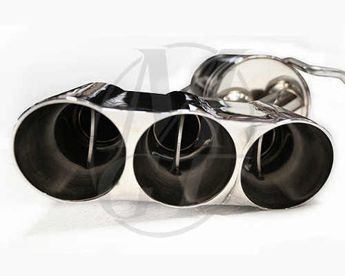 Meisterschaft Stainless GT Racing Exhaust 6x83mm Tips Mercedes-Benz CLS350 V6 05-10 - ME1111210