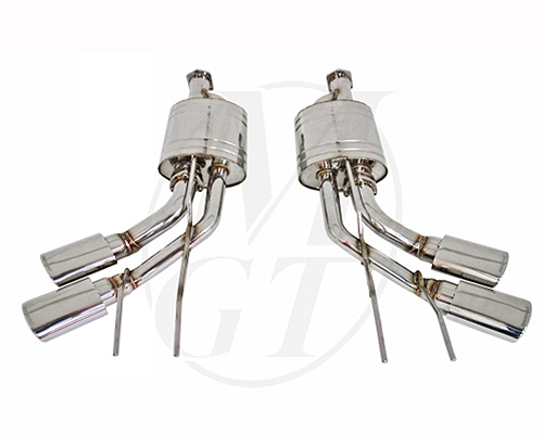 Meisterschaft Stainless GTS Ultimate Exhaust Mercedes-Benz G550 V8 05-12 - ME1411518