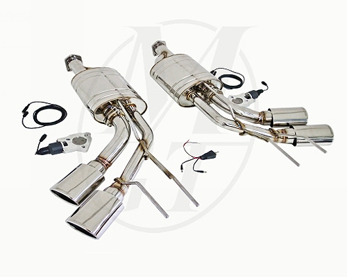 Meisterschaft Stainless GTC Exhaust Mercedes-Benz G55 AMG 05-12 - ME1411618