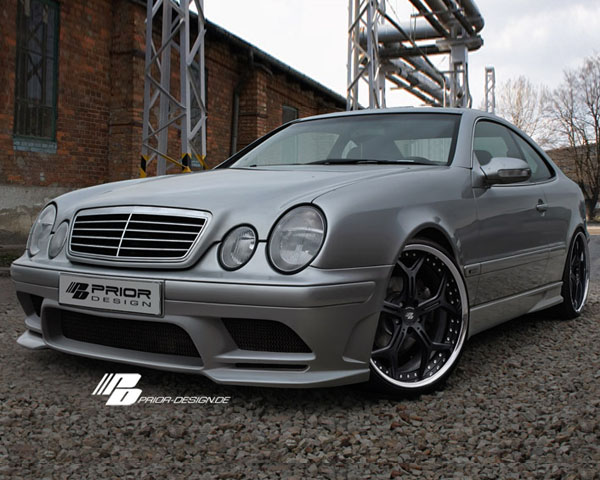 prior design front bumper cover mercedes benz clk class. Black Bedroom Furniture Sets. Home Design Ideas