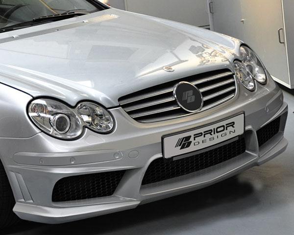 Prior Design PD1 Front Bumper Mercedes-Benz CLK-Class W209 03-09 - 4260609892192