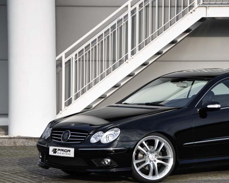 Prior Design PD63 Front Bumper Mercedes-Benz CLK-Class W209 03-09 - 4260609892161