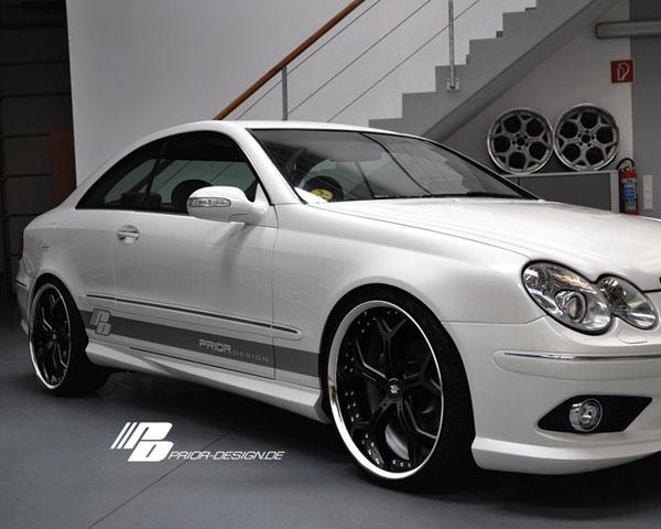 Prior Design PD1   PD63 Side Skirts Mercedes-Benz CLK-Class W209 03-09 - 4260609892185