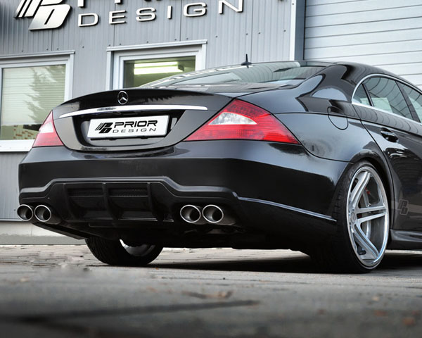 Prior Design PD600 Rear Bumper Mercedes-Benz CLS-Class W219 04-10 - 4260609892260