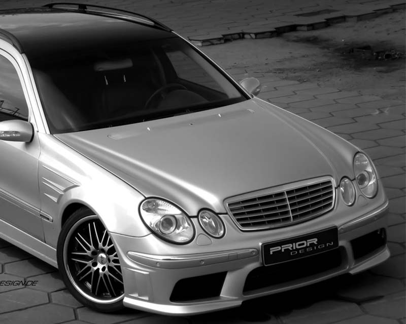 Prior Design Front Bumper Mercedes-Benz E-Class W211 03-09 - 4260609892413
