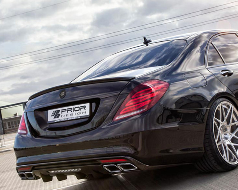 Prior Design PD800S Rear Trunk Spoiler Mercedes-Benz S-Class W222 14-15 - 4260609893120