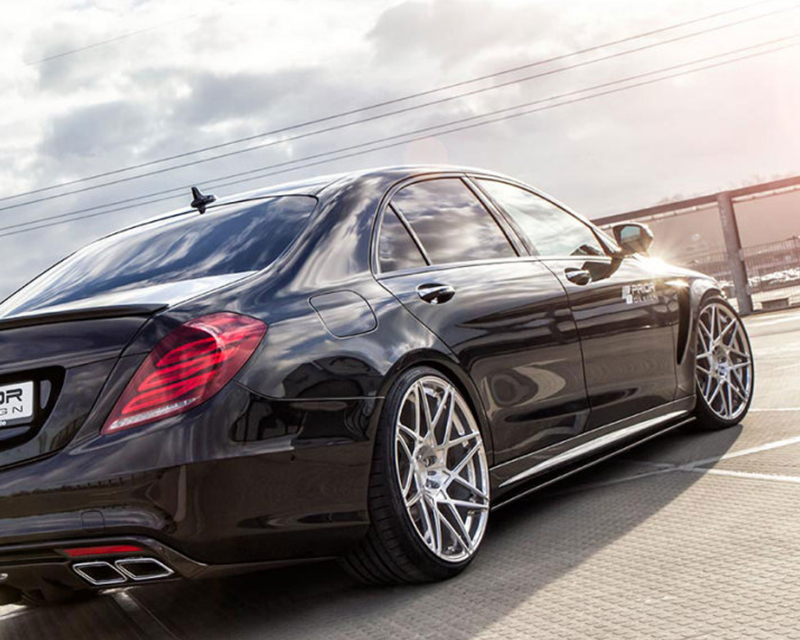 Prior Design PD800S Side Skirts with Side Rocker Extensions Mercedes-Benz S-Class W222 14-15 - MERS222SSPD800S
