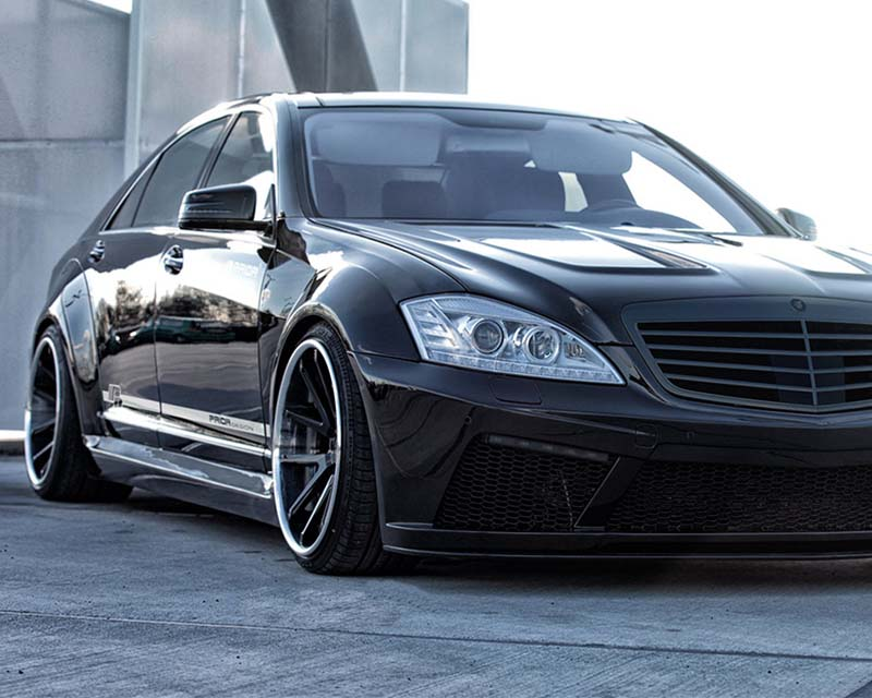 Prior Design PD Black Edition V2 Widebody Mercedes-Benz S-Class W221 06-13 - 4260609893038