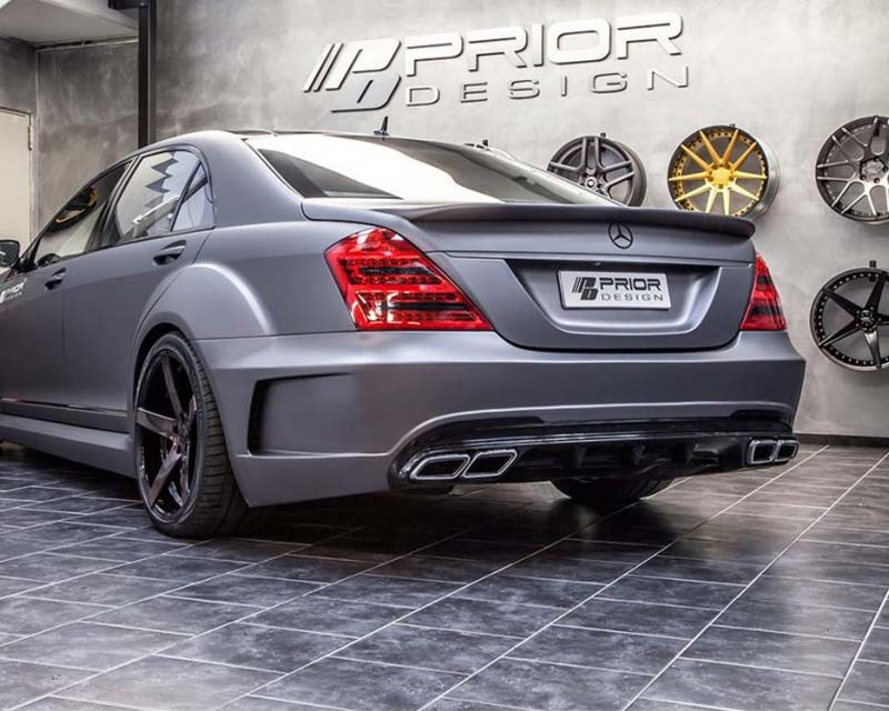 Prior Design PD Black Edition Trunk Spoiler Mercedes Benz S-Class W221 06-13 - 4260609893052
