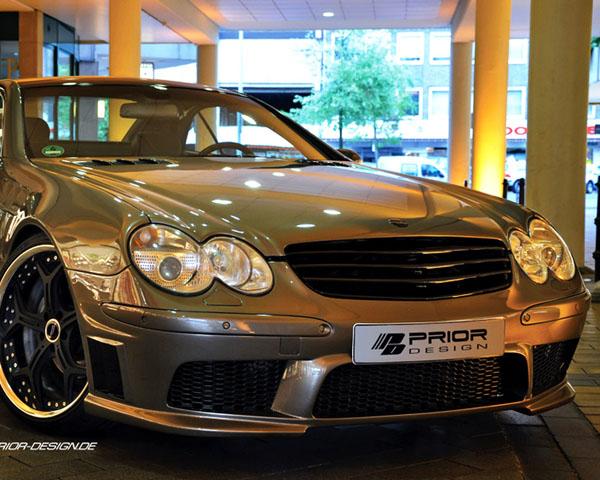 Prior Design Warrior Star-less Grill Mercedes-Benz SL-Class R230 03-08 - 4260609892826