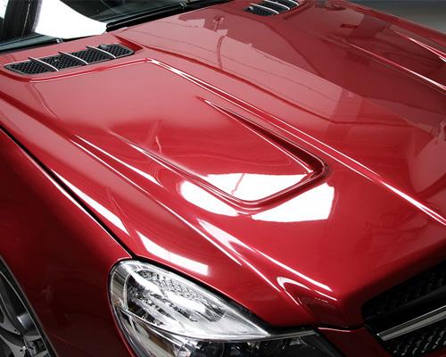 Image of Prior Design Black Edition Vented Hood Mercedes SL R230 02-12
