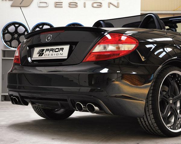 Prior Design PD1 Rear Bumper Cover Mercedes-Benz SLK-Class R171 04-11 - 4260609893014