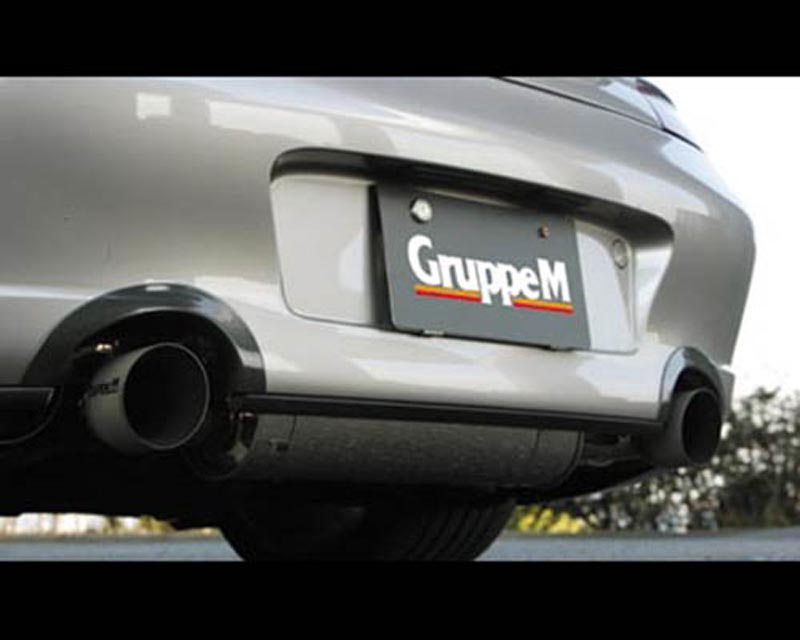 Image of GruppeM Aerodynamics Carbon Exhaust System Covers Porsche 996 Carrera 4S Turbo 01-05