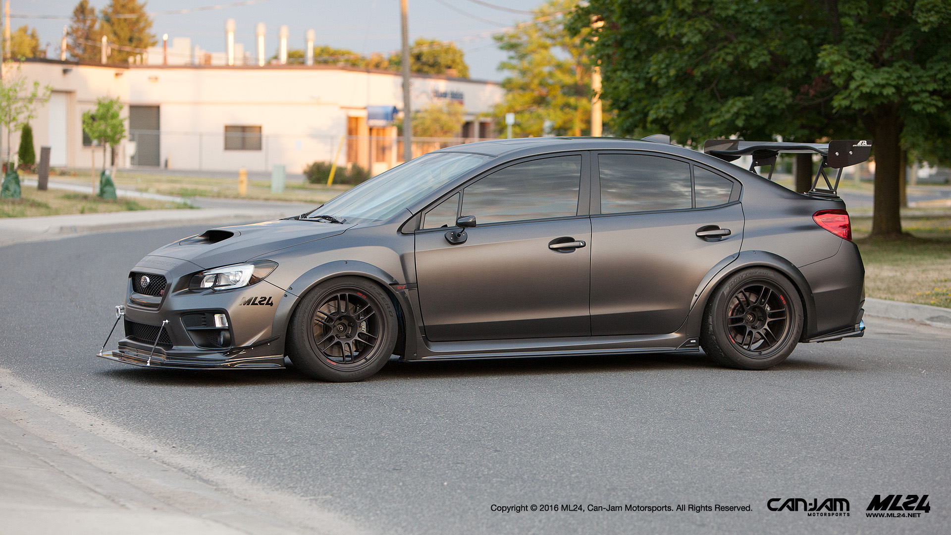 Ml24 Widebody Fender Flares Subaru Wrx 15 17 Ml 24 Wbff