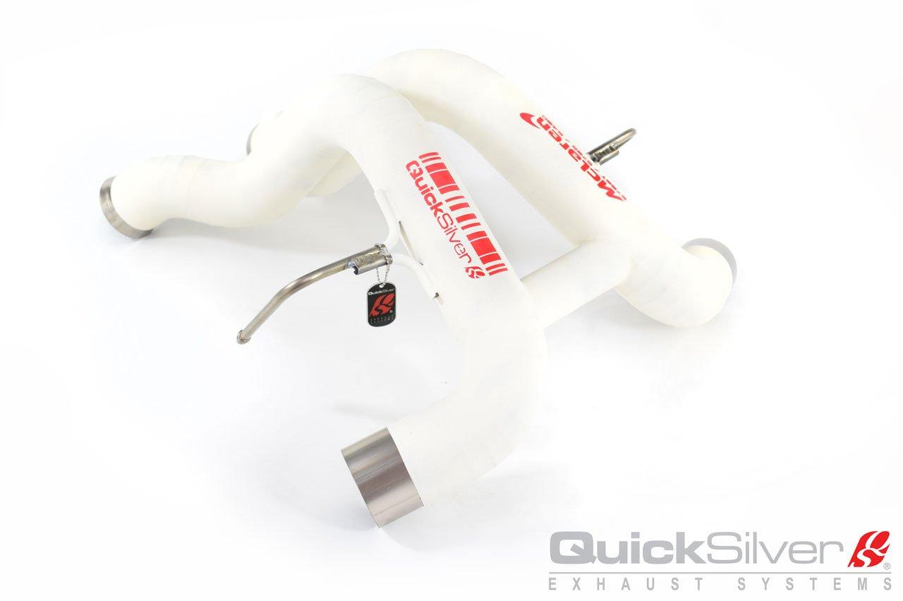 Quicksilver Titanium Ultralight Ceramic Coated Sport Exhaust System McLaren 570GT | 540C | 570S 16-19 - ML580T