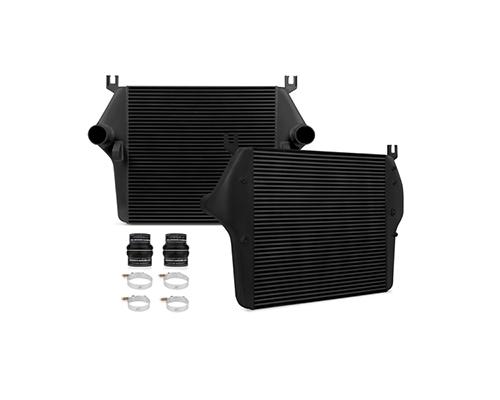 Mishimoto Intercooler Black Dodge Ram 5.9L   6.7L Cummins 03-09 - MMINT-RAM-03BK