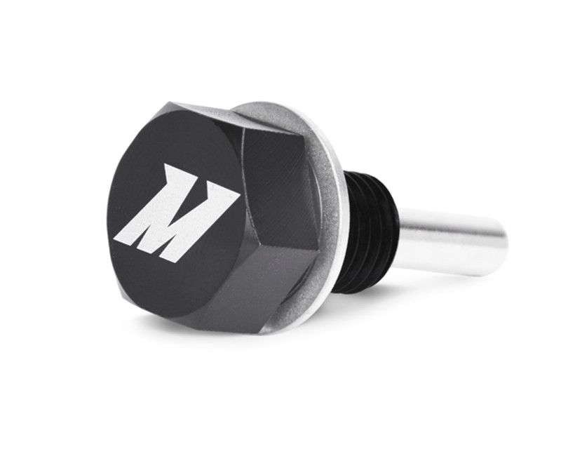 Image of Mishimoto Black Magnetic Oil Drain Plug M12 x 1.5 Universal