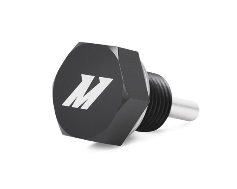 Image of Mishimoto Black Magnetic Oil Drain Plug M12 x 1.25 Universal