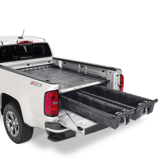 Decked Nissan Frontier Bed Organizer 05-17 5 Ft Bed Length - MN3