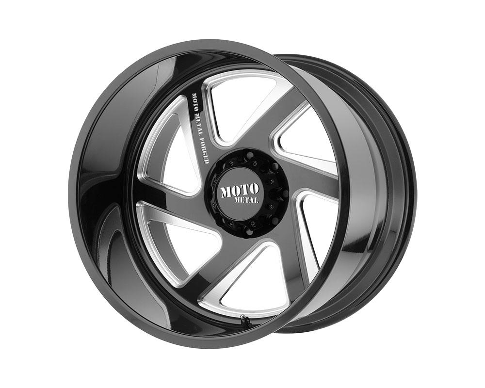 Moto Metal MO400 Wheel 20x14 Blank -76mm Gloss Black Milled - MO40020400L976NL