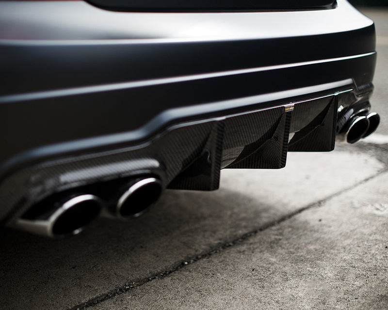 Image of Mode Carbon Luftstrom Rear Diffuser Mercedes Benz C63 W204 12-14