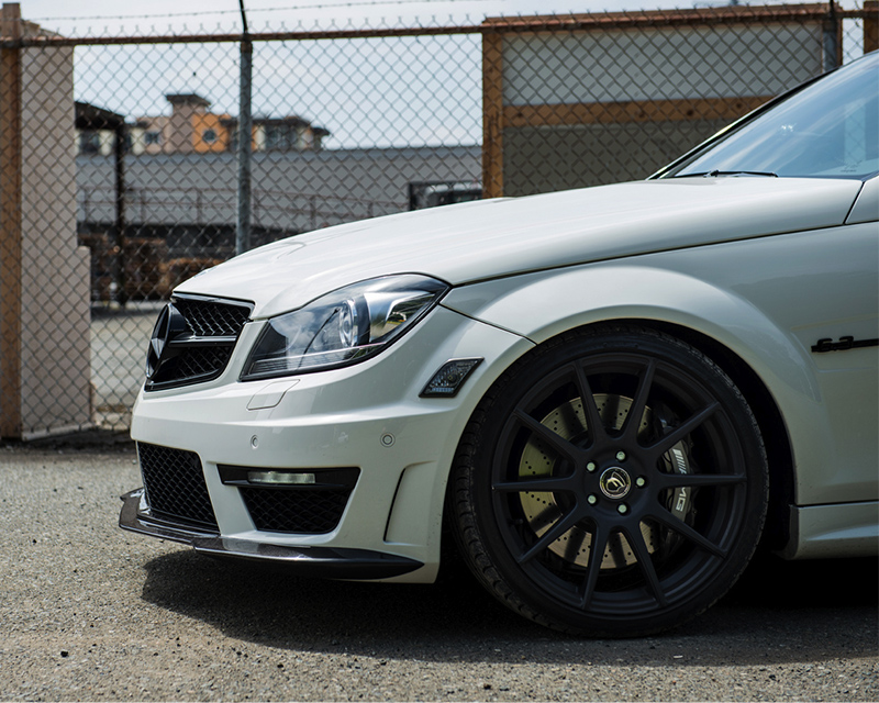 Image of Mode Carbon Luftstrom Front Spoiler Mercedes Benz C63 W204 12-14